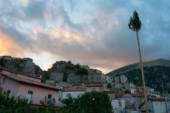 Festa della ` Ndenna, Rito Arboreo, Tradycyjny przebłagalny obrządek obraz royalty free