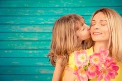 Festa della primavera Concetto di giorno del ` s della madre fotografie stock libere da diritti