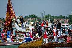 Festa della Sensa, ringowy błogosławieństwo Obrazy Stock