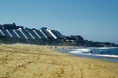 Festa della spiaggia Immagine Stock
