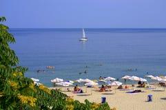 Festa della spiaggia di estate Fotografia Stock