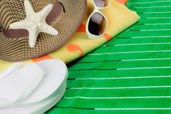 Festa della spiaggia di estate Immagine Stock