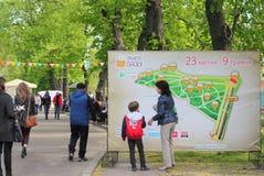Festa della via del festival di Pasqua Immagine Stock