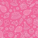 Festa di compleanno royalty illustrazione gratis