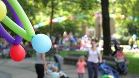 Festa di compleanno con i palloni archivi video