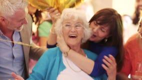 Festa di compleanno di sorpresa! video d archivio