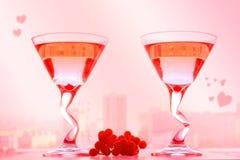 Festa di giorno di biglietti di S. Valentino. Fotografia Stock