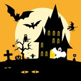 Festa di Halloween Fotografia Stock