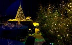 festa di Natale di disposizione Fotografia Stock Libera da Diritti