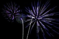 Festa di saluto dei fuochi d'artificio Fotografia Stock Libera da Diritti
