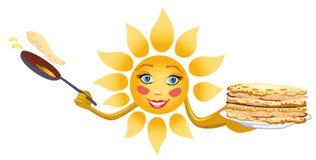Festa di Shrovetide royalty illustrazione gratis