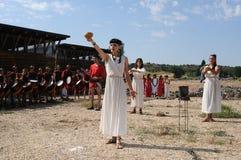 FESTA do BACCHUS. Burgos .SPAIN Imagem de Stock Royalty Free