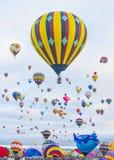 Festa do balão de Albuquerque Imagens de Stock Royalty Free