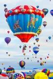 Festa do balão de Albuquerque Foto de Stock