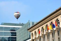 Festa do balão de ar quente Imagens de Stock