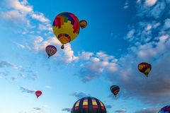 Festa 2016 do balão de ar quente de Albuquerque Imagens de Stock Royalty Free