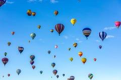 Festa 2016 do balão de ar quente de Albuquerque imagens de stock