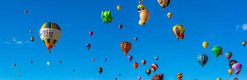Festa 2016 do balão de ar quente de Albuquerque Foto de Stock