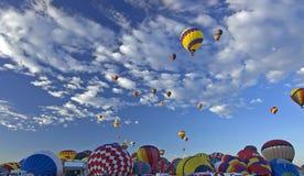 Festa do Ballon de Albuquerque fotos de stock royalty free