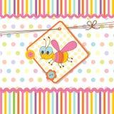 Festa do bebê com abelha Foto de Stock