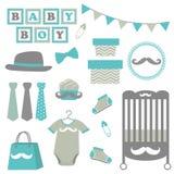 Festa do bebê pequena do homem Imagem de Stock Royalty Free