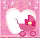 Festa do bebê - sua uma menina Foto de Stock