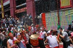 Festa do dragão bêbedo Imagens de Stock