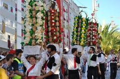 Festa dos Tabuleiros -盘子节日 库存图片