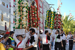 Festa dos Tabuleiros - taca festiwal Obrazy Stock