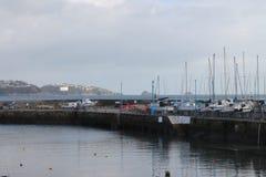 Festa e porto di Paignton immagine stock libera da diritti