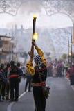 Festa espanhola - BLANCA da costela Imagem de Stock
