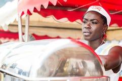 Festa grelhada de Abidjan Imagem de Stock