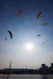 A 5a festa internacional do balão de ar quente de Putrajaya Fotografia de Stock