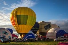 Festa internacional do balão de ar quente em Bristol imagens de stock