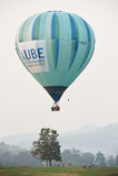 Festa internacional do balão do parque de Singha, Tailândia Fotos de Stock