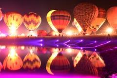 Festa internacional do balão do parque de Singha, Tailândia Imagens de Stock Royalty Free