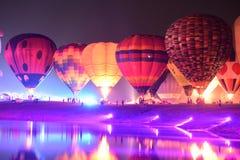 Festa internacional do balão do parque de Singha, Tailândia Fotografia de Stock