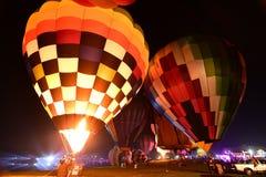 Festa internacional do balão do parque de Singha, Tailândia Fotografia de Stock Royalty Free