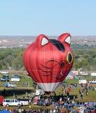 Festa internacional em Albuquerque, nanômetro do balão fotos de stock royalty free