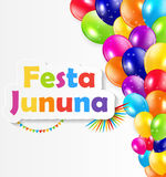 Festa Jinina Background Vector Illustration. EPS10 Stock Image