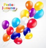 Festa Jinina Background Vector Illustration. EPS10 Royalty Free Stock Images