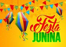 Festa Junina stock illustrationer