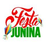 Festa Junina illustrazione di stock