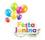 Festa Junina Background. Vector Illustration Stock Photos