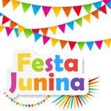 Festa Junina Background. Vector Illustration Royalty Free Stock Photos