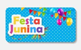 Festa Junina Background. Vector Illustration Stock Image