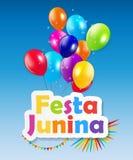 Festa Junina Background. Vector Illustration Royalty Free Stock Photo
