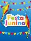 Festa Junina Background Vector Illustration. EPS10 Stock Photography