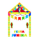 Festa Junina Brazil Festival. Folklore holiday. Festival fire Royalty Free Stock Photography
