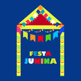 Festa Junina Brazil Festival. Folklore holiday. Festival fire. nFesta Junina - June party Royalty Free Stock Image
